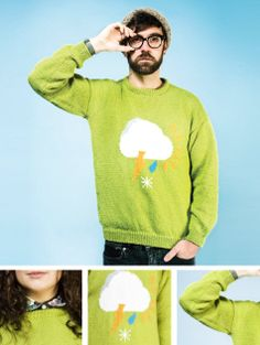The Knit Parade Sweater Pattern