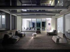 villa mm a biella - Federico Delrosso Architects Villa, Design Inspiration, Windows, Mansions, Interior Design, Architecture, House Styles, Table, Furniture