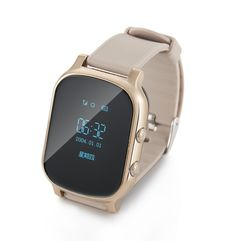 check price gps tracker smart watch t58 for kids children gps bracelet google map sos button tracker #rubber #bracelets