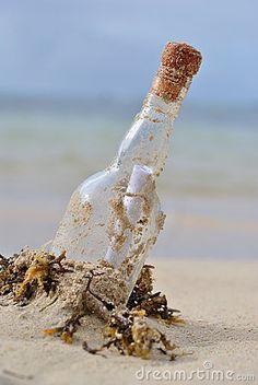 "...I used to love beachcombing and always hoped I would find one of these! Then I read the book/saw the movie ""Message in a bottle"" and they just made me worse lol!"