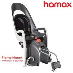Bike Child Seats - Hamax Caress Child Bike Seat UltraShock Absorbing Frame or Rack Rear Mount Adjustable to Fit Baby Through Toddler 9 mo  485 lb 35Year Award Winning European Brand *** For more information, visit image link.