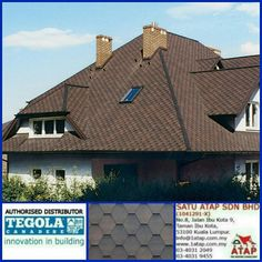 Tegola Premium Mosaik with a hexagon weave.   An elegant play of interconnecting coloured pieces. The attractive mosaic effect is easily achieved thanks  to three-dimensional shades. Whatever design, tegola roof enhance  your property value with cooling inside, anti theft and warranty zero leaking.  Whether there are other roof who can ?  Tegola the only fashionable roof for life.   ☎03 4031 9455 📲whatsapp at 019 656 0961 💻www.1atap.com.my/tegola