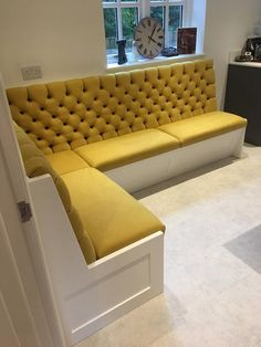 Dining Room Bench Seating with Storage Best Of Bespoke Banquette Seating Deep buttoned Undercover Booth Seating In Kitchen, Banquette Seating In Kitchen, Kitchen Booths, Dining Room Bench Seating, Storage Bench Seating, Kitchen Benches, Dining Nook, Dining Room Design, Corner Dining Bench