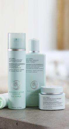 Cleanse, Tone, Moisturise | Liz Earle Naturally Active Skincare