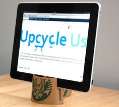 Another craft idea: Upcycling a coffee cup sleeve
