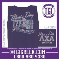 TGI Greek - Lambda Chi Alpha - Mom's Day - Greek T-shirt #tgigreek #lambdachialpha #momsday