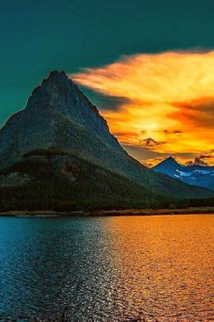 Glacier National Park, Montana, USA.