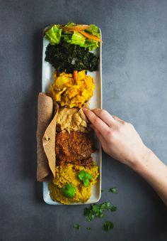 bayenetu Ethiopian veggie platter // vegan, gluten-free, dairy-free