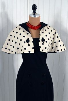 1950's Vintage Pauline Trigere by TimelessVixenVintage on Etsy