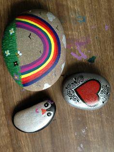 Painted rocks  x
