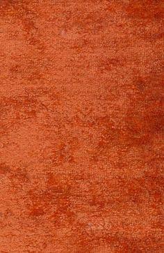 Coriolan Velvet Crushed velvet in burnt orange