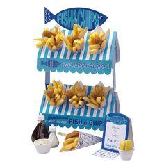 Fish 'n' Chips Street Stall | Gebak- en snackpresentatie | LangZalZeLeven