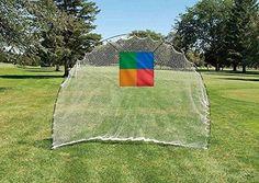 Longridge Easy Golf Net - White, 7 x 9 ft. Longridge Easy Golf Net - White, 7 x 9 ft. 7 x 9 ft.