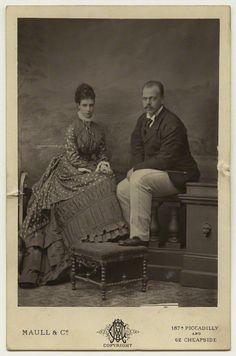 Empress Marie Feodorovna and Tsar Alexander III of Russia