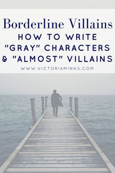 Not all characters are clear-cut good or bad, for or against the protagonist! What if you have an