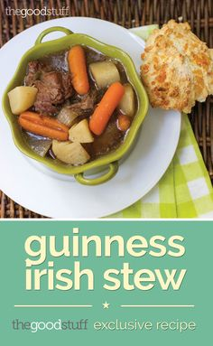 Guinness Irish Stew (Exclusive Recipe) | thegoodstuff