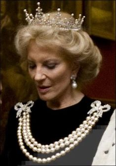 Princess Michael at the Guildhall Banquet November 2011, in the festoon tiara