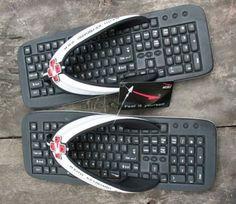 Infradito-tastiera Keyboard Flip-Flops