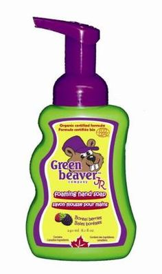 Green Beaver Jr. Boreal Berries Foaming Hand Soap $7.59 - from Well.ca