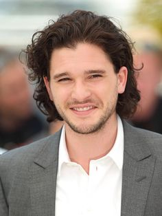 In our wildest TV fantasy, a.k.a. Game of Combs, the Jon Snow actor reigns supreme – which is why his lustrous locks have their own contract in real life. That's correct: Harington says he's not allowed to cut his hair while he's starring on Game of Thrones, the HBO fan favorite leading the Emmys pack with 19 nods.