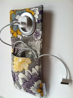 Cell Phone Wall Socket Charging Holder - iPhone Holder when Charging Phone - iPhone Case.