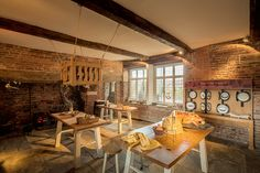 Ordsall Hall Kitchen, Salford, Greater Manchester, England UK by michael_d_beckwith