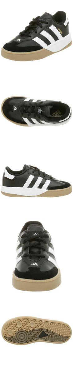 Adidas Performance Samba M I Leather Indoor Soccer Shoe (Infant/Toddler),Black/White,3 M US Little Kid