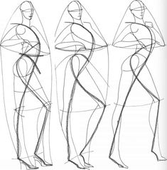 New drawing fashion figures maniquin 28 ideas Fashion Figure Drawing, Fashion Model Drawing, Figure Drawing Models, Human Figure Drawing, Fashion Design Drawings, Figure Drawing Reference, Pose Reference, Fashion Illustration Tutorial, Fashion Illustration Sketches