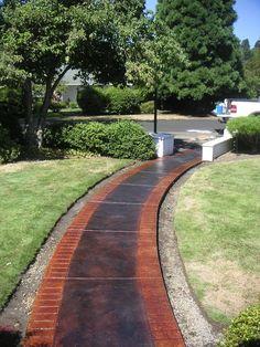 Sidewalk Design Ideas 7 walkway ideas to pump up your curb appealwalking the plank sidewalk design ideas 19 Home Walkway Design Ideas Page 2 Of 4