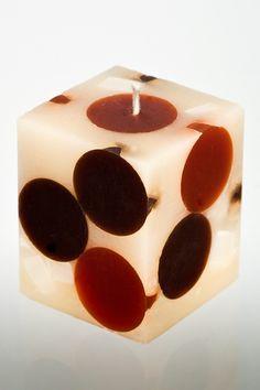 Marrakech Pillar Candle - Dots #setthetable