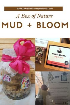 Mud + Bloom a monthly nature subscription box.