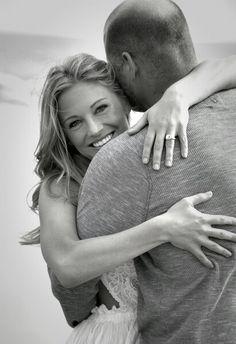 Engagement photo, beach engagement photo