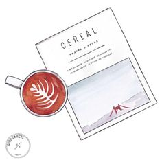 Good objects - Monday…. #cerealmagazine #coffee #goodobjects #illustration #watercolor