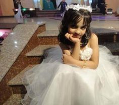 RIP. On Friday, August 1, 2014, Israel targeted and attacked the house belonging to the al-Farra family in Maan, south of Khan Younis, killing 9 members of the family, and injuring sixteen others. | Pictured: Yara Al-Farra,8 years old. One of her dreams was to become a beautiful bride. | http://humanizepalestine.com