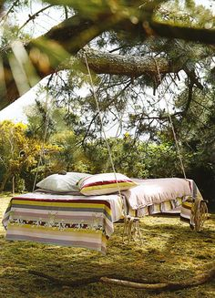 Outdoor day bed, or grown up hammock