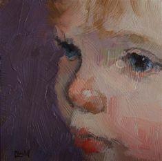 "Daily Paintworks - ""Precious"" - Original Fine Art for Sale - © Chantel Barber"