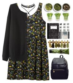 # by credendovides on Polyvore featuring Monki, Aesop, NDI and Tea Collection