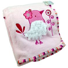 Personalised Baby Blankets - Little Bird
