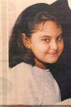Hot Sonakshi Sinha childhood images