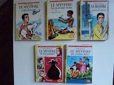 lot 5 Mystère Enid Blyton Idéal Bibliothèqye