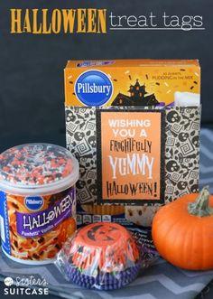 Halloween Treat Tag - #freeprintables to make your #Halloween treats more fun!