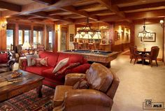 A Ranch for All Seasons in Colorado Steamboats, Mountain Homes, Sofa, Couch, My House, Building A House, Home And Family, Bed, Furniture
