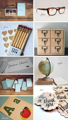 "Literary themed wedding ----- This website has so cool ""school"" themed ideas for those couples who met as youngsters."