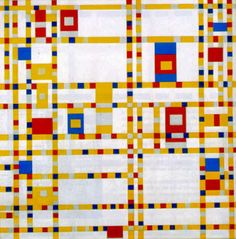 Piet Mondrian radically simplified the elements of painting to reflect the spiritual order underlying the visible world.