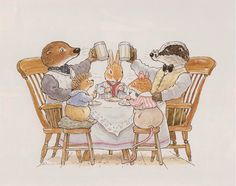Tea Time - Foxwood Tales by Cynthia and Brian Paterson