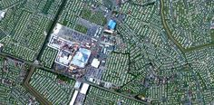 1/12/2015 Fantasy Island Skegness, United Kingdom 53°11′29″N0°20′52″E  Numerous caravan parks surround the Fantasy Island amusement parkin Skegness, United Kingdom. Situated on the eastern shore of England, the town serves as a popular holiday resort and tourist destination.