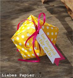 Liebes Papier...: Gelb ist das neue Rosa...
