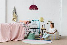 La De Dah Kids - crochet basket, rug, beanbag