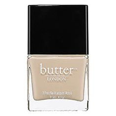 butter LONDON 3 Free Nail Laquer in opaque tan, via Sephora #itwasthefaceofspring