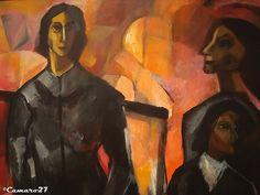 """Antonio García Ponce, """"Personajes"""" (2001). MARTE Museo de Arte de El Salvador by CAMARO27, via Flickr"""